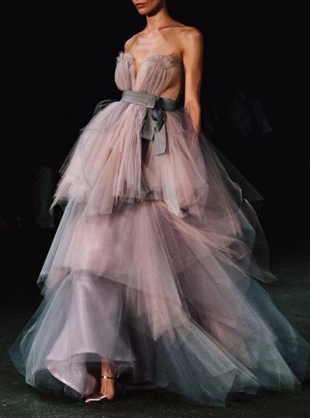 dress pink blue