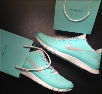 shoes tiffany blue nikes nike free run tiffany blue tiffany blue nike free runs www.yourderry.com trainers free run nike women tiffany tiffany&co turquoise mint nike running shoes need it in my life please find it india westbrooks