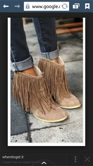 fringes boots fringed boots