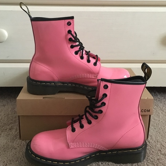 20% off Dr. Martens Shoes - Dr. Martens Acid Pink from Jadesha's closet on Poshmark