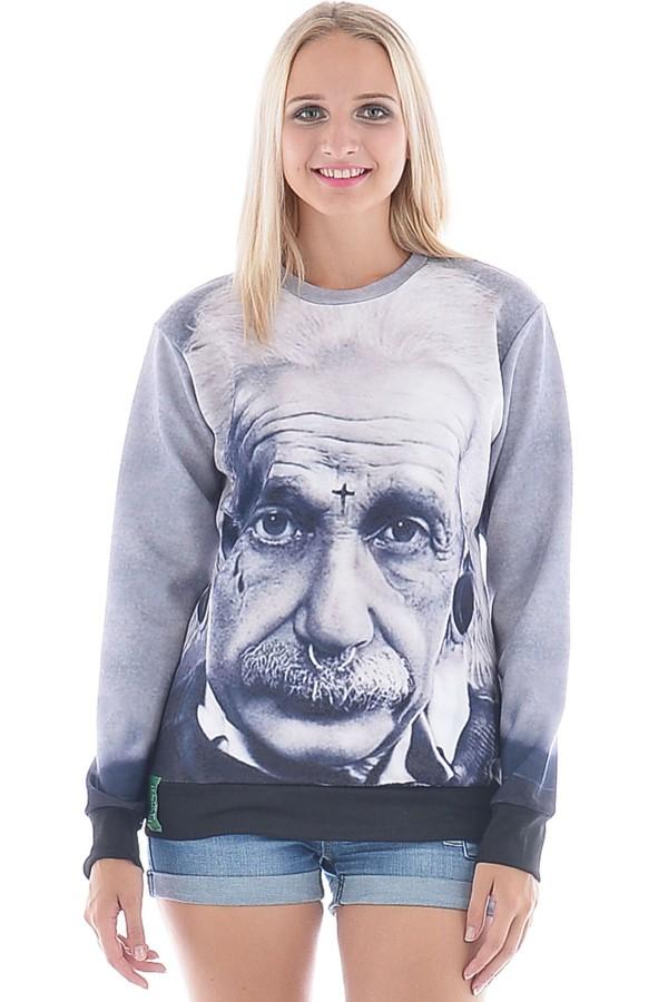 ilife ilifestore\ 3d print einstein sweater iswag