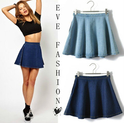 Mobile site 2013 hot a line high waist denim mini skirt - Stylefruits mobel ...