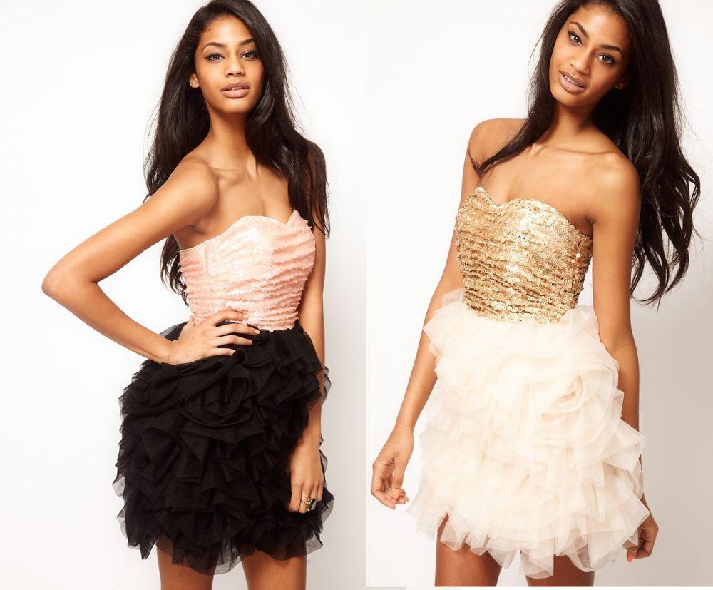 RARE OPULENCE stunning gold corset bandeau net ballerina dress | eBay