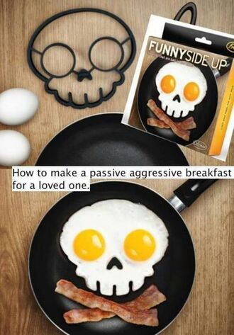hair accessory egg skull breakfast kitchen tools