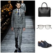 bag,lvr: dolce & gabbana briefcase,accessories,office outfits,briefcase,menswear,leather,luxury