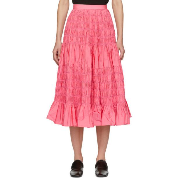 Molly Goddard Pink Helene Skirt