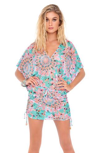 dress 2016 luli fama cover up beach dress multicolor bikiniluxe