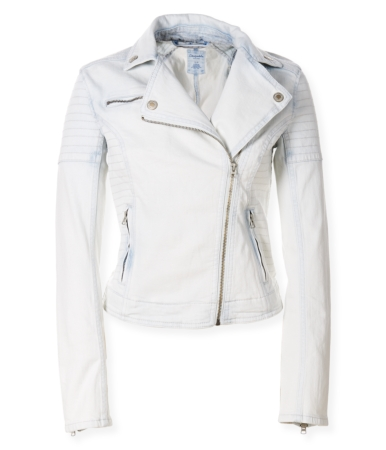 Light-Wash Denim Jacket -