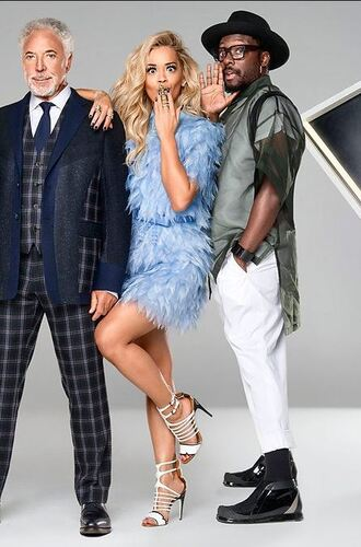 dress feathers rita ora sandals shoes light blue fendi