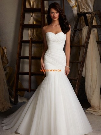 dress white dress wedding dress mermaid wedding dresses