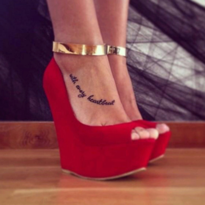 Isabel Sky High Suede Wedge Sneakers Red