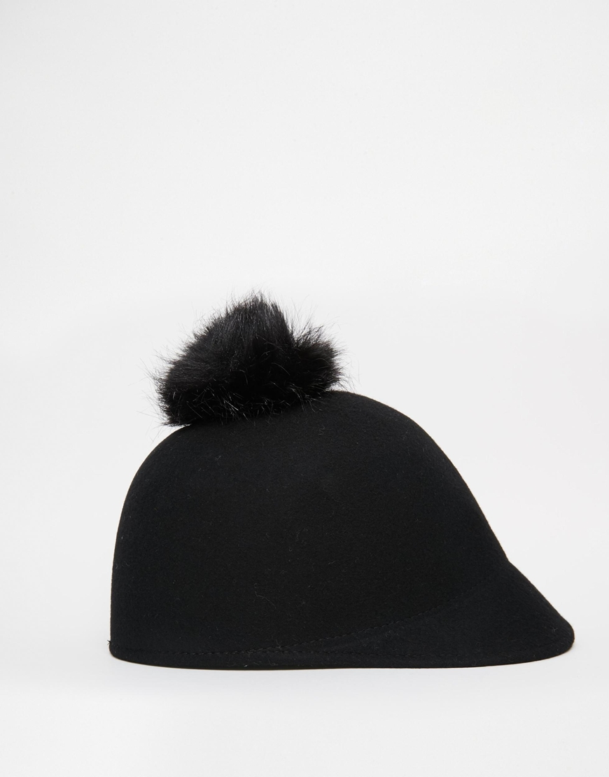 a4e48d92be6 Catarzi Pom Riding Cap at asos.com