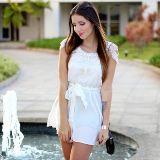 dress white dress lace white rosie huntington-whiteley laces lace dress white lace dress light pink dress