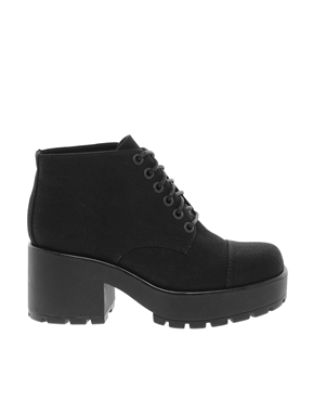 Vagabond | Vagabond Dioon Black Ankle Boots at ASOS