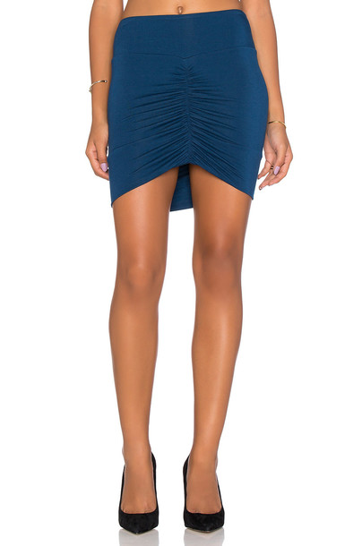 Bella Luxx skirt mini skirt mini blue