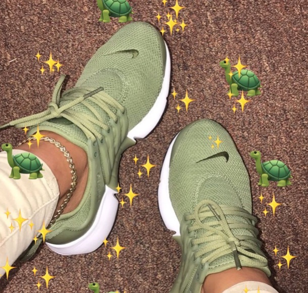 shoes nike prestos olive green nike prestos