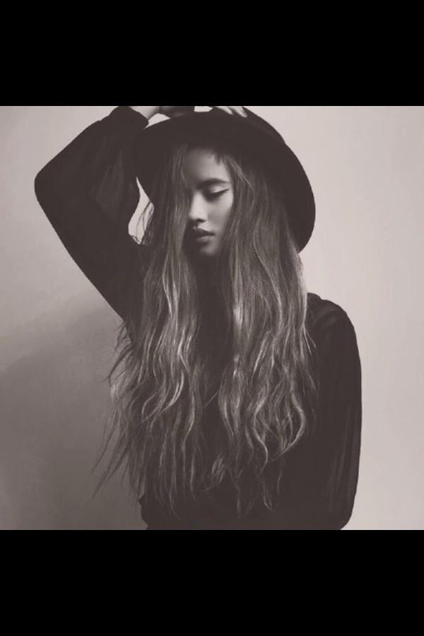 hat black cute