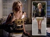 dress,pretty little liars,baroque,shoes,hanna marin,ashley benson
