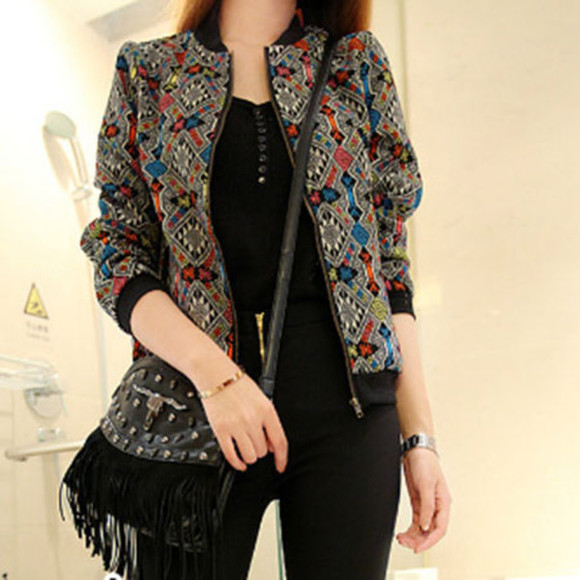 folk jacket retro