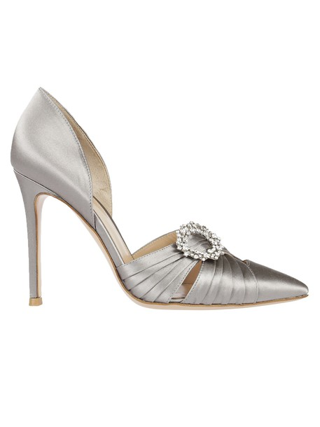 Gianvito Rossi classic pumps grey shoes