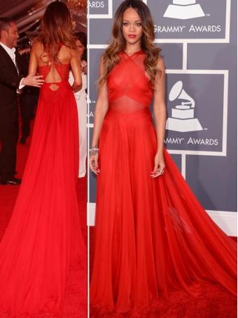Length celebrity prom dress/evening dress [b0053]