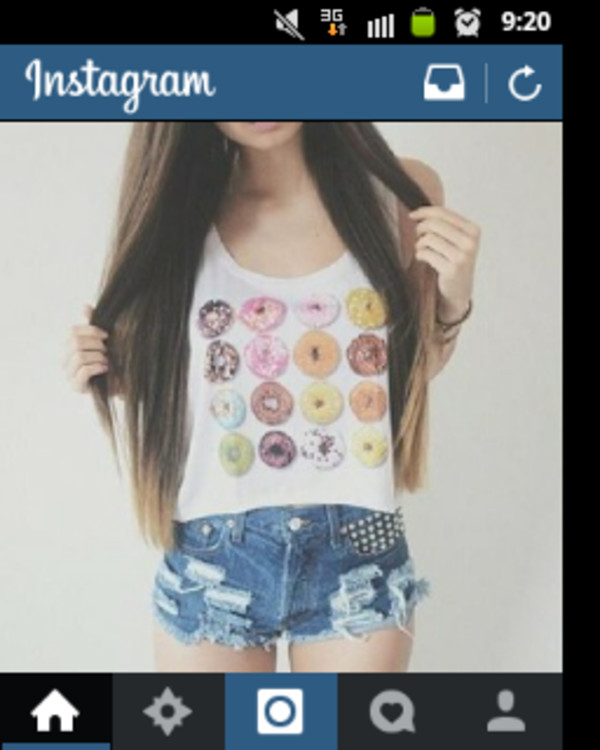 shirt donut funny perfect colorful
