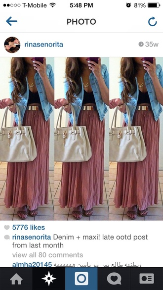 skirt style maxi dress maxi skirt long dress long sleeves tumblr outfit tumblr tumblr jacket cute pink dress pink skirt pink purple summer outfits