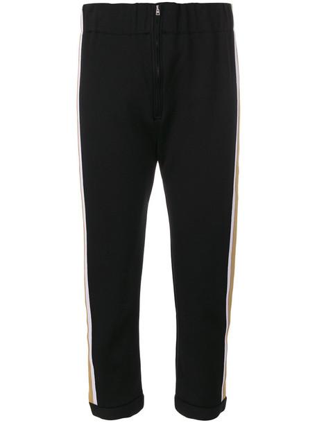 MARNI cropped women cotton black pants