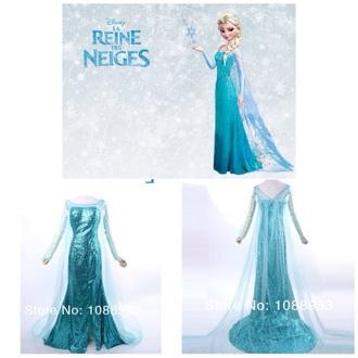 sparkly dress blue dress frozen frozen elsa dress