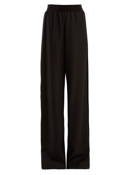 MAISON MARGIELA wool black pants