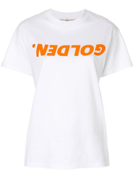 GOLDEN GOOSE DELUXE BRAND t-shirt shirt t-shirt women white cotton top