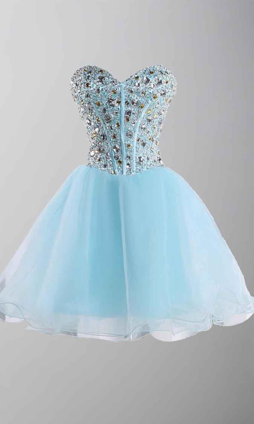 Rhinestone Sweetheart Bodice Short Red Prom Dresses UK KSP403 [KSP403] - £99.00 : Cheap Prom ...