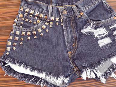 Flawless 520 1/2 Shorts - Arad Denim