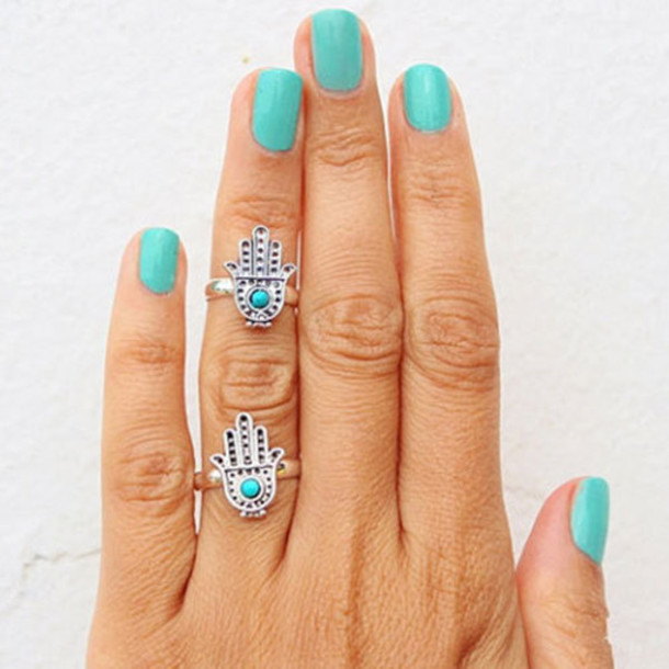 jewels ring finger