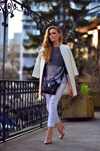 kayture pants shoes coat sweater jewels bag shirt