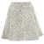Cream Animal Jacquard Skater Skirt - Topshop