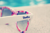 sunglasses,rayban,pink sunglasses,flowers,summer,white,floral,top,white sunglasses,rose