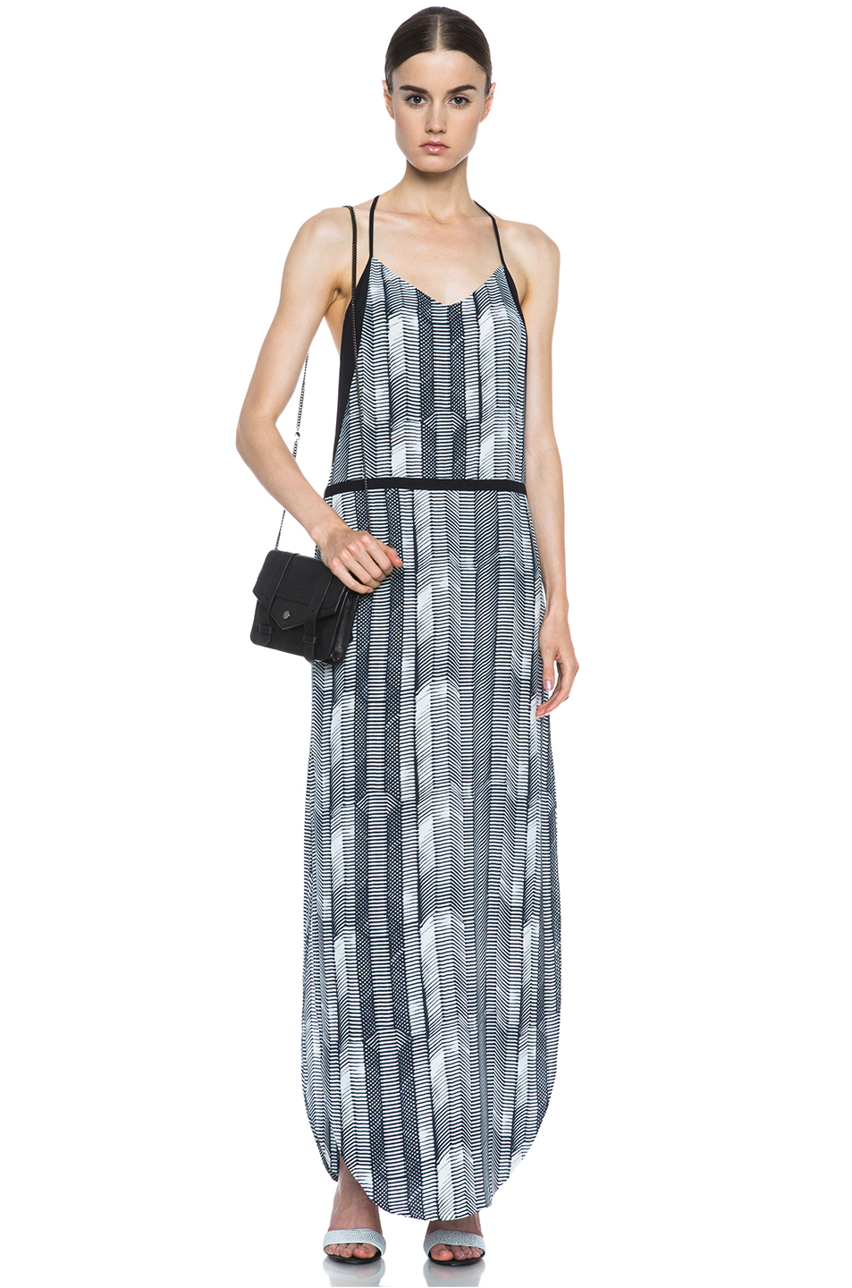 Sass & Bide|Grass Roots Viscose Dress in Print