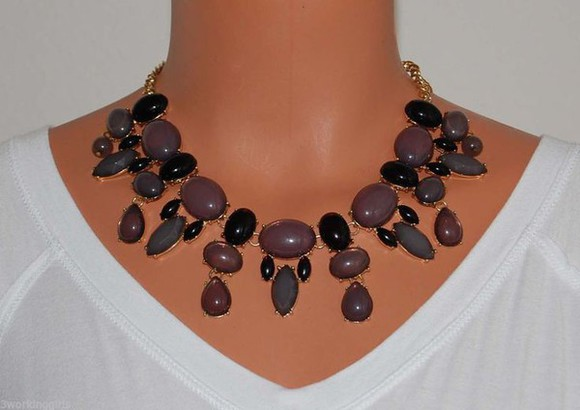 jewels necklace girly fashion style