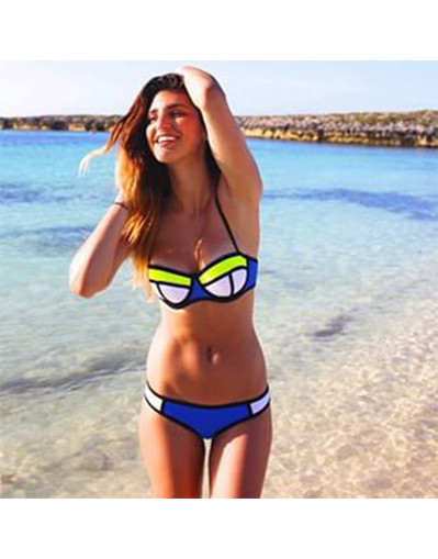 Shop fashion geometric bikini