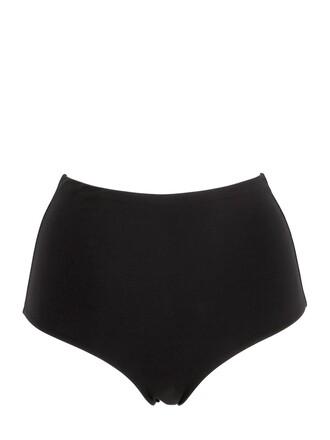 high waist swimsuit high black swimwear