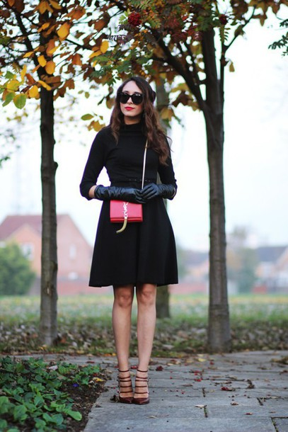 Sunglasses: preppy fashionist, blogger, ysl bag, mini bag, leather ...