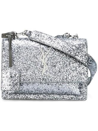 satchel metallic bag