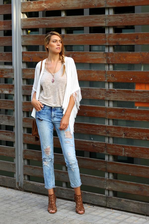 tu nuevo look bag jewels t-shirt shoes jeans shirt