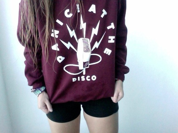 the cute sweater at brendon urie brendon urie panic disco panic! at the disco fab awe my chemical romance fall out boy