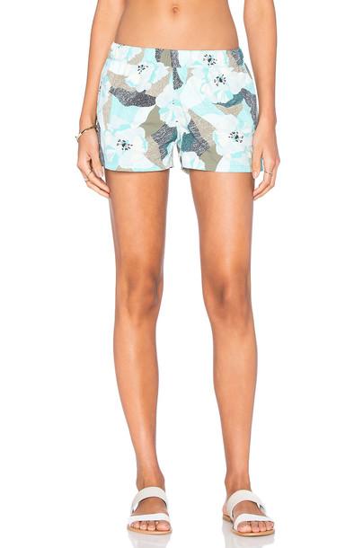 shorts turquoise