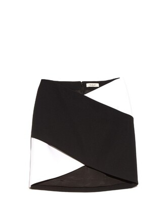 skirt mini skirt mini white black