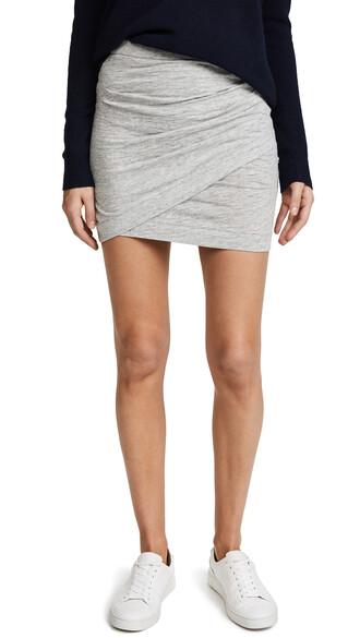 skirt light grey