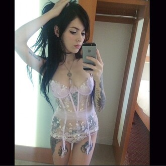 underwear see through lingerie pink lingerie lace lingerie cherry blossom pink cute