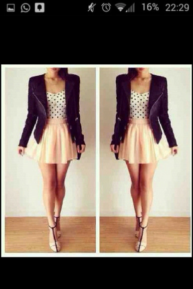 black jacket leather black leather black leather jacket cool leather jacket cool jacket black jacket skirt pink lovely